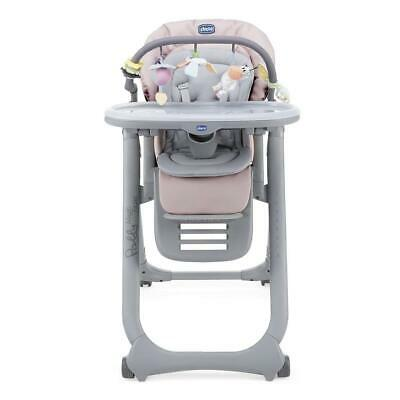 Chicco Polly Magic Relax Highchair 4Wheel (Paradise Pink) - Suitable From Birth  • 144£