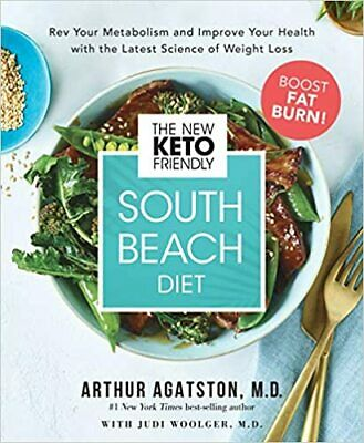 $7.99 • Buy The New Keto-Friendly South Beach Diet By Arthur Agatston M.D (2019. Digital)