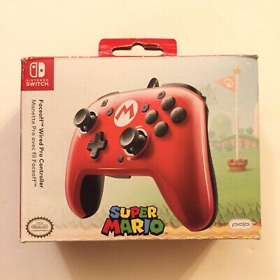 $22.47 • Buy PDP Nintendo Switch Faceoff Super Mario Wired Pro Controller (Tested)