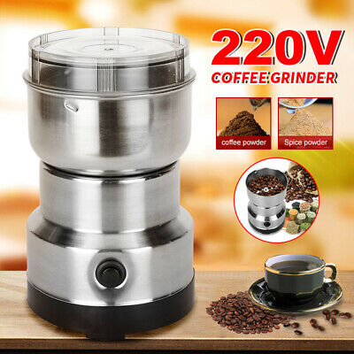 AU22.95 • Buy 240V Electric Herbs/Spices/Nuts/Coffee Bean Grinder/Grinding/Mill Blender New