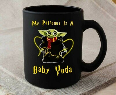 $15.99 • Buy My Patronus Is A Baby Yoda Mug Coffee Mug Tea Cup Coffee Cup Gift Mug