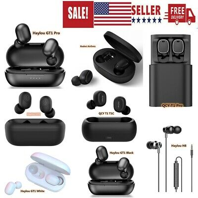 $8.77 • Buy Xiaomi Haylou GT2 GT1 Pro GT1 QCY Redmi AirDots TWS Earphones H8 Wired Mic Z9Z5