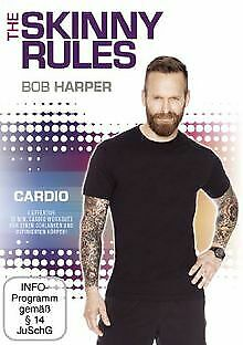 Bob Harper: The Skinny Rules - Cardio | DVD | Condition Very Good • 4.51£