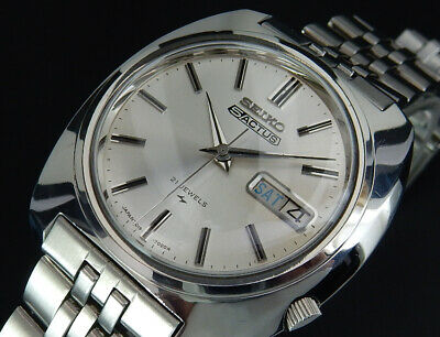 $ CDN194.61 • Buy Working Seiko 5 Actus 1969 Oct. Vintage Automatic Mens Watch 7019 From Japan