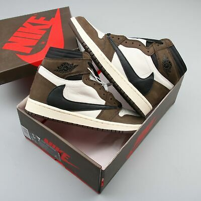$599 • Buy Free Shipping AIR JORDAN1 High OG TS SP  TRAVIS SCOTT  CD4487100 Men US Size 9.5