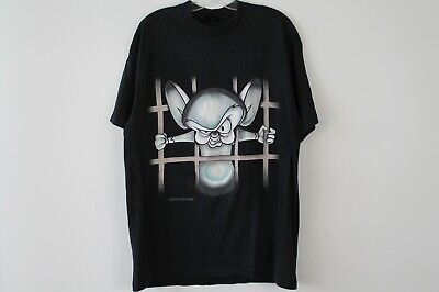 $ CDN90 • Buy Vintage 90s Pinky And The Brain Graphic Cartoon T Shirt Size XL (G9-6)