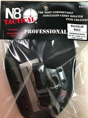 $ CDN69.65 • Buy N82 Tactical Holster Professional XD SC/XDM 3.8C Or XD Mod 2 Left Hand