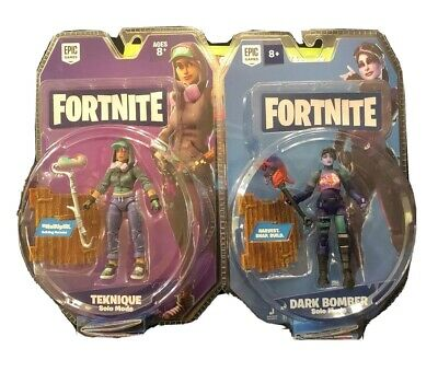 $ CDN22.50 • Buy Fortnite Solo Mode 4  Figure Pack By Jazwares Collectible Toy Teknique Dark Bomb