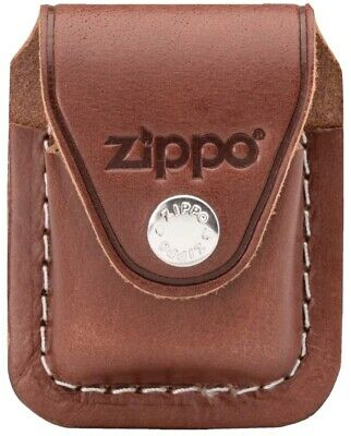 $17.99 • Buy Zippo Brown Leather Lighter Pouch/Case/Holder W/Belt/Boot Clip Made In U.S.A.