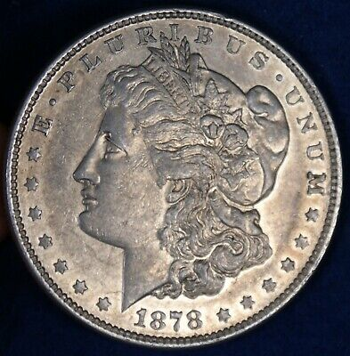 $25.28 • Buy 1878 8TF $1 Morgan Silver Dollar Coin **8 Tail Feathers**