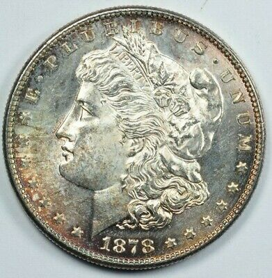 $105 • Buy 1878 S $1 Morgan Silver Dollar US Coin BU Choice Uncirculated Mint State