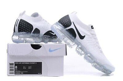$110 • Buy Nike Vapormax Flyknit 2 Black/White Running Shoes Size 8-11 Available!