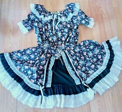 $18 • Buy Square Dance Outfit Fun And Fancy Origiginals Size Medim