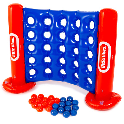 Inflatable Connect 4 Outdoor Garden Game Party Toy Kids Children Four In A Row • 14.95£