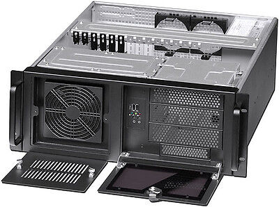 AU135.10 • Buy 4U (Quality Heavy Duty)(3x5.25 + 9x3.5  Bay)(Rackmount Chassis)(ATX/ITX Case)NEW