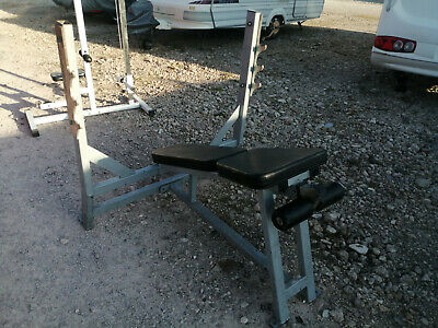 Commercial Decline Bench Press Olympic Gym Weight Lifting • 50£