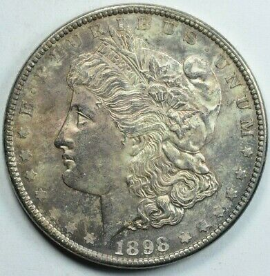 $65 • Buy 1898 Morgan Silver Dollar Mint State Uncirculated Ms Unc