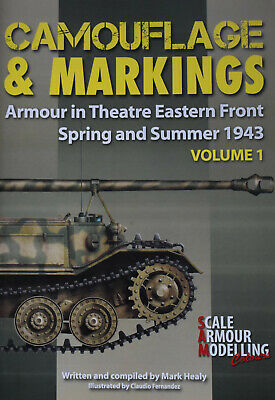 £19.99 • Buy TANKS EASTERN FRONT WW2 Armour Camouflage Markings NEW German Soviet Army 1943