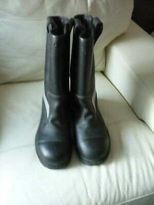 £75 • Buy Jolly GoreTex Fire Fighter Leather Steel Toe High Boots Size 8/42