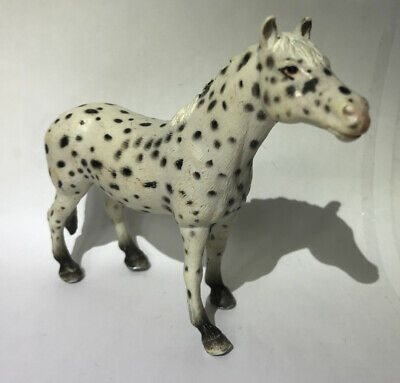 5  Schleich Retired 2006 Knabstrupper Mare Leopard Appaloosa 13617 Horse Figure • 9.50£