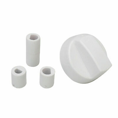 Fits Hotpoint Creda Cannon Indesit White Cooker Oven Hob Control Knob & Adaptors • 3.99£
