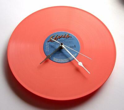 ELVIS PRESLEY Vinyl Record CLOCK Made From A Recycled 12  Pink Vinyl LP Gift Mum • 22.99£