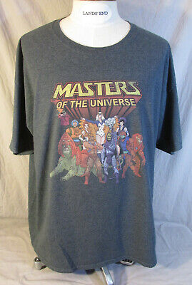 $14.20 • Buy Heman And The Masters Of The Universe Grey Gray T Tee Shirt Size 3XL XXXL MOTU