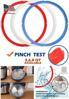 $15.28 • Buy Sealing Silicone Rings For Instant Pot Accessories Fits 5 Or 6 Quart Models R...