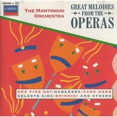 Mantovani (Orch.) | CD | Great Melodies From The Operas • 8.33£