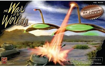 War Of The Worlds 1953 War Machines Attack Diorama Plated Model Kit Pegasus 9202 • 30.68£