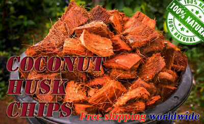 £8.62 • Buy Coconut Husk Chips 100% Natural For Orchids And Other Plants Free Shipping