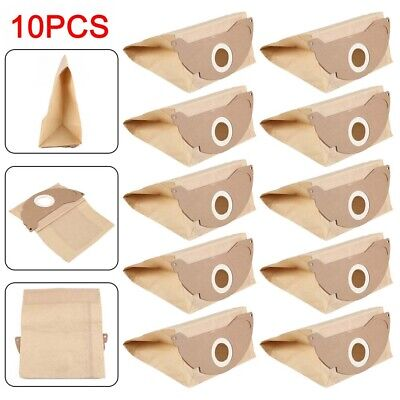 £7.79 • Buy 10 X Strong Dust Bags For Karcher WD2.200 MV2 IPX4 WD2240 Vacuum Cleaner Hoover