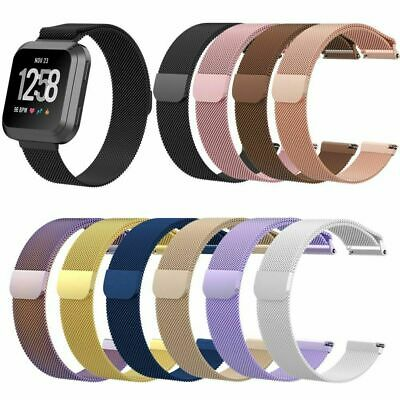 $ CDN13.59 • Buy For Fitbit Versa 2/Versa/LITE Strap Milanese Wrist Band Stainless Steel Magnetic