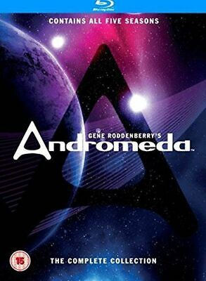 Andromeda Seasons 1 To 5 Complete Collection Blu-ray [uk] New Bluray • 80.54£