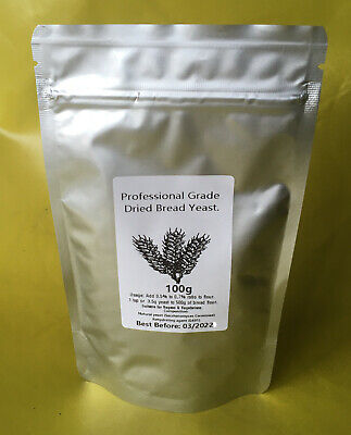 Yeast Instant Dried Bread Professional Grade Baking Bakers Yeest 25 50 100 500g • 3.89£