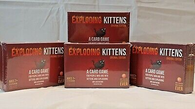 AU32.94 • Buy Exploding Kittens Original Edition Card Game