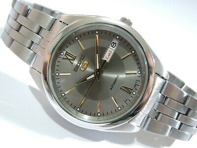 $ CDN102.10 • Buy Nice Rare Seiko 5  Automatic 7s26-0420 Gray Two Tone Dial Day/date Men's Watch