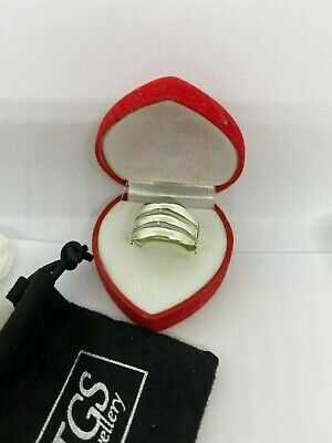 Solid Silver 925 Ladies Ring UK Handmade All Size Available+ Gift Box • 19.99£