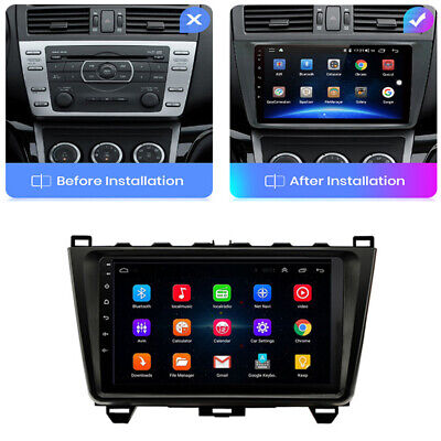AU215.90 • Buy 9'' Android 9.1 Car Stereo Radio Head Unit GPS For Mazda 6 2008-2012 W/ Canbus