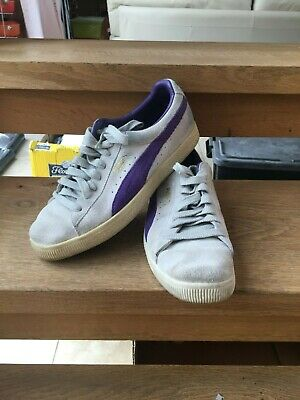 Puma Clyde - Grey - Uk 8 - Very Good Condition • 14.99£