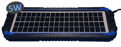 AU39 • Buy Topray Solar Panel 5w Battery Trickle Charger Caravan Jayco Rv Boat Marine Parts