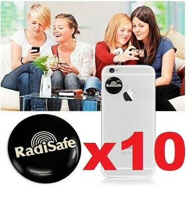 X10 EMF Protection Quantum  Anti Radiation Laptop Phone Mobile Sticker RADISAFE • 11.95£