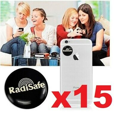 X15 EMF Protection Quantum  Anti Radiation Laptop Phone Mobile Sticker RADISAFE • 14.95£