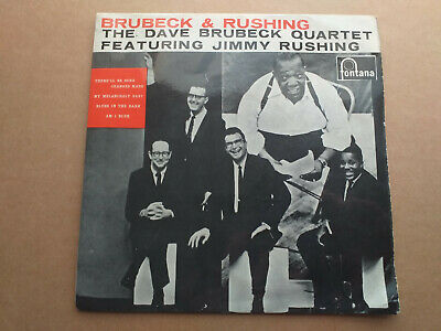 The Dave Brubeck Quartet Featuring Jimmy Rushing ‎– Brubeck And Rushing Label: • 2.99£