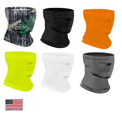 $8.49 • Buy 2 Pcs Lightweight Neck Gaiter Neck Warmer Mask Face Cover Siki Cold Weather