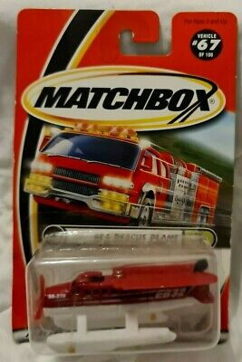 Mattel MATCHBOX 2000  #67  Sea Rescue Plane • 7.99£