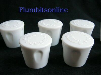 £7.20 • Buy 8 X Central Heating Radiator Replacement Caps / Cap ***FAST POST***