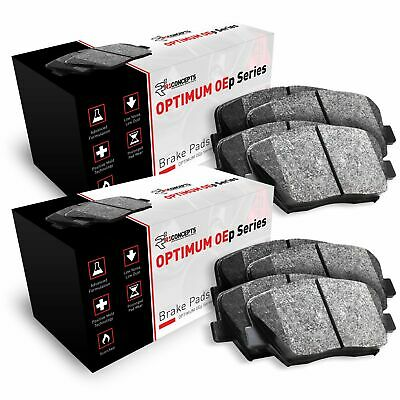$53.05 • Buy For 2004-2006 Mazda MPV Front And Rear R1 Semi-Met Series Brake Pads