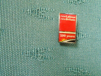 100 Years Labour Party - New Labour New Britain Political Party Enamel Pin Badge • 9.99£