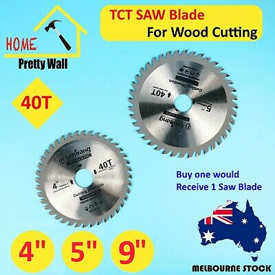 AU13.60 • Buy Power Top Quality Wood Cutting TCT Circular Saw Blade Disc 125 100 Mm 40 Teeth 9